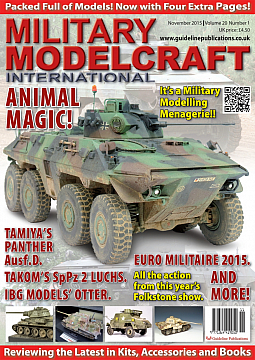Guideline Publications Military Modelcraft November 2015