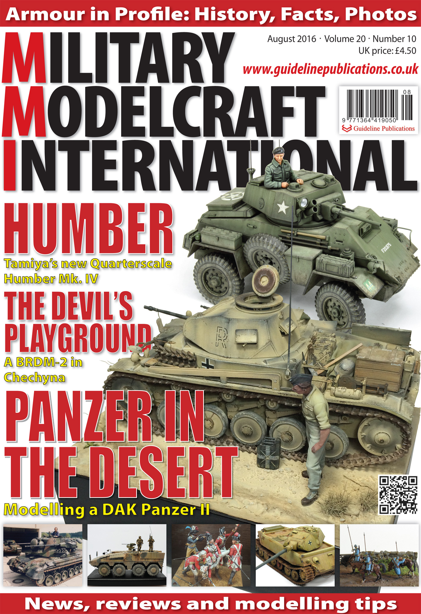 Guideline Publications Military Modelcraft August 2016 vol 20-10