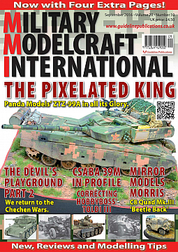 Guideline Publications Military Modelcraft September 2016