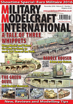 Guideline Publications Military Modelcraft November 2016
