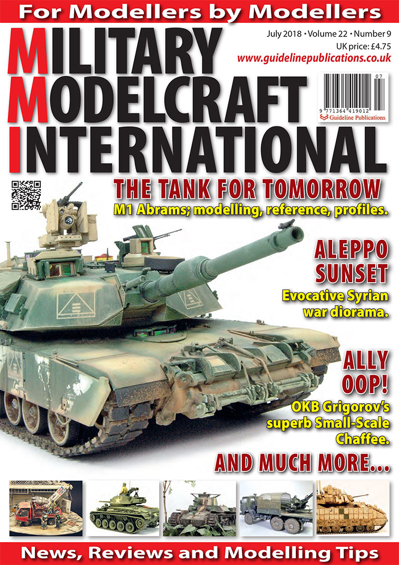Guideline Publications Military Modelcraft July 2018 vol 22-09