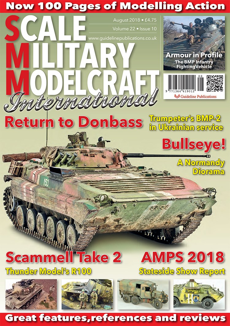 Guideline Publications Scale Military Modelcraft Int Aug 18 vol 22-10 - August 2018
