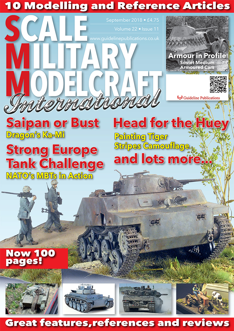 Guideline Publications Scale Military Modelcraft Int Sept 18 vol 22-11 - September 2018
