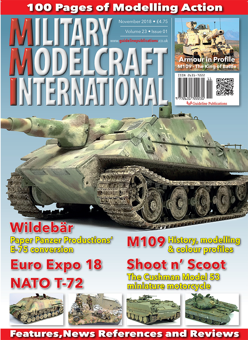 Guideline Publications Military Modelcraft Int November 2018 vol 23-01 - November 2018