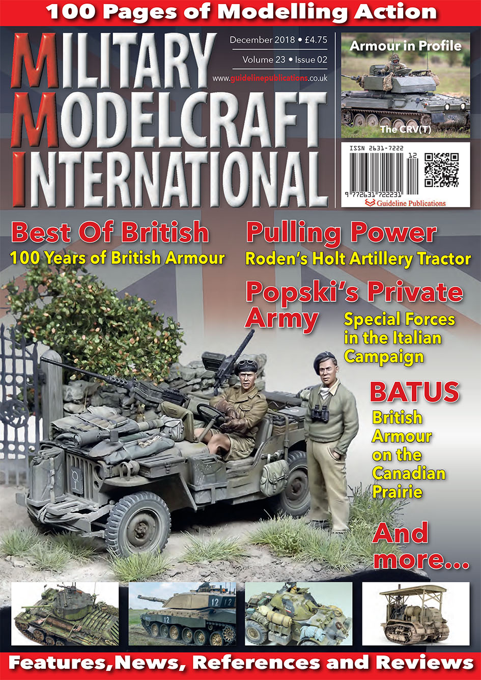 Guideline Publications Military Modelcraft Int Dec 2018 vol 23-02 - December  2018