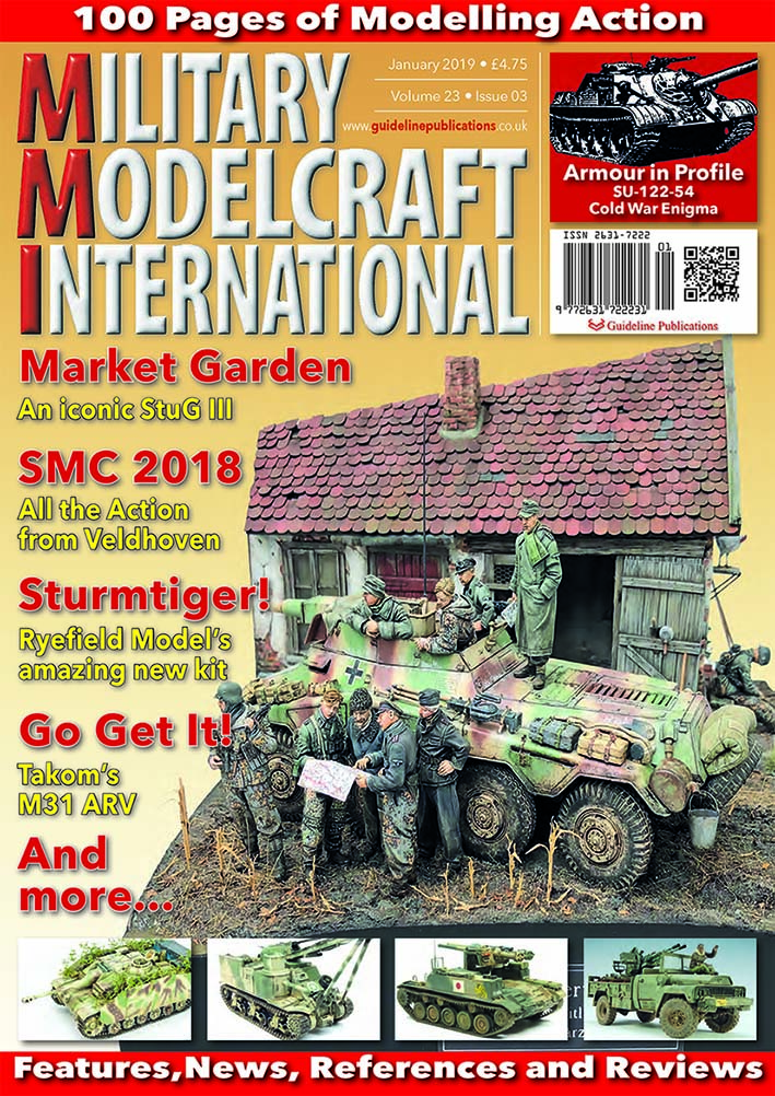 Guideline Publications Military Modelcraft Int January 2019 vol 23-03 - January  2019