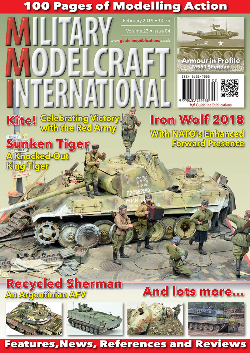 Guideline Publications Military Modelcraft Int February 19 vol 23-04 - February  2019