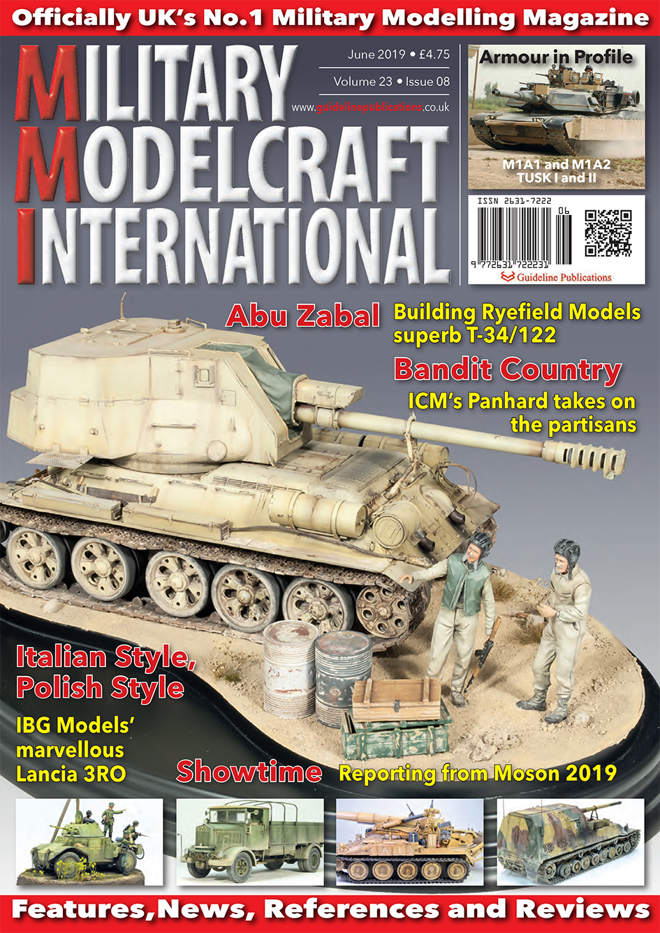 Guideline Publications Military Modelcraft Int June 2019 vol 23-08 - June  2019