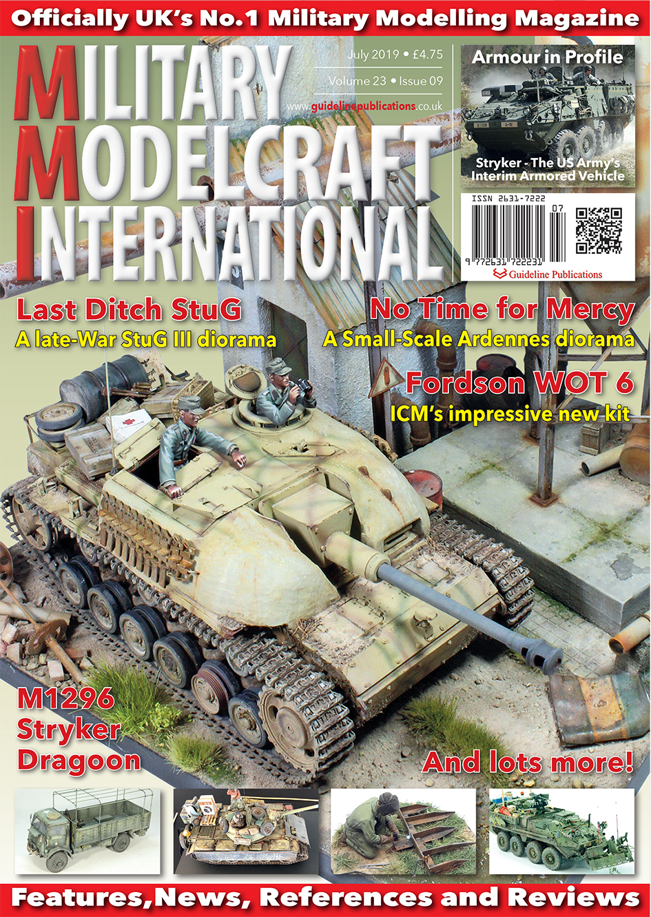 Guideline Publications Military Modelcraft Int July 2019 vol 23-09 - June  2019