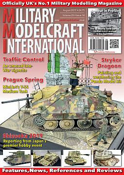 Guideline Publications Military Modelcraft Int August 2019 vol 23-10 - August  2019