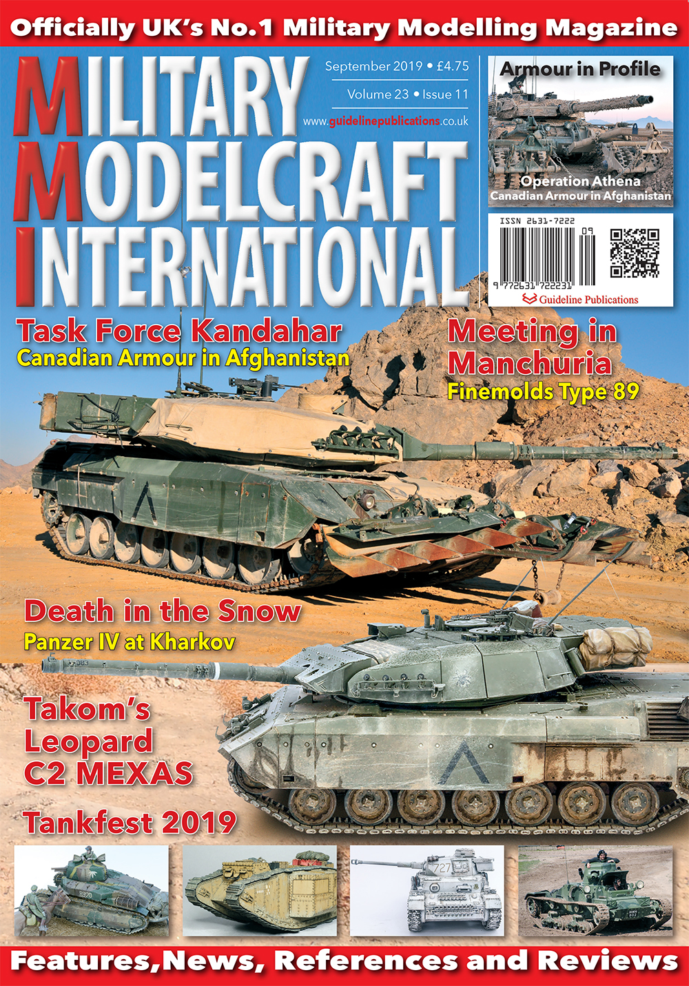 Guideline Publications Military Modelcraft Int Sept 2019 vol 23-11 - September  2019