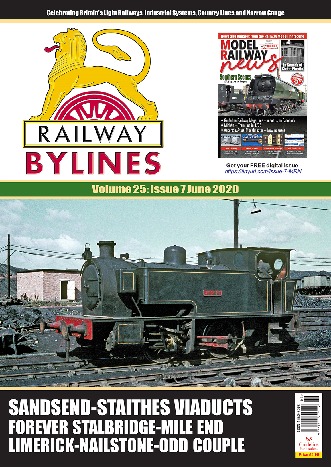 Guideline Publications Railway Bylines  vol 25 - issue 7 June 2020