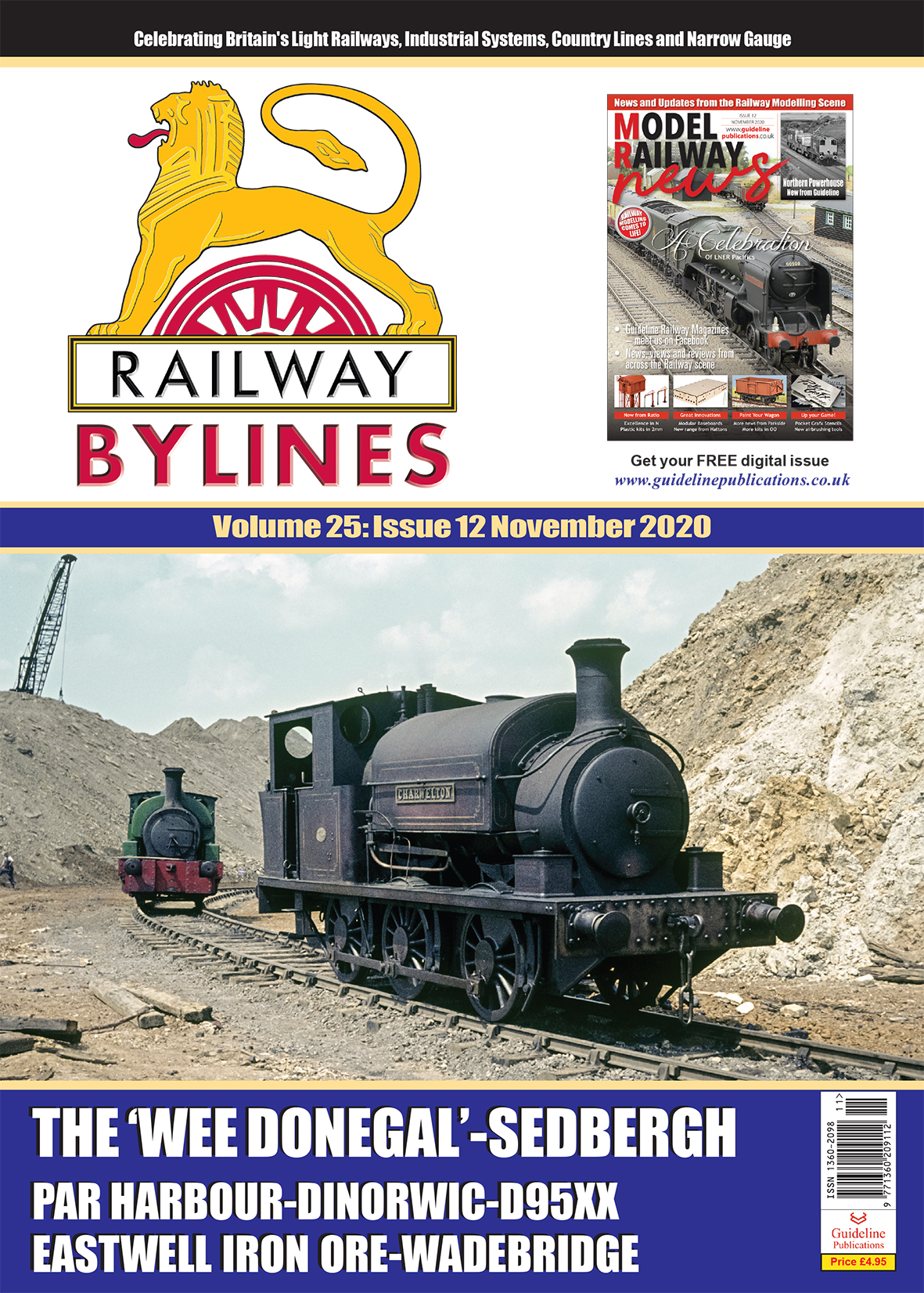 Guideline Publications Railway Bylines  vol 25 - issue 12 November 2020