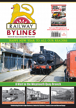 Guideline Publications Railway Bylines  vol 26 - issue 02 January 2021
