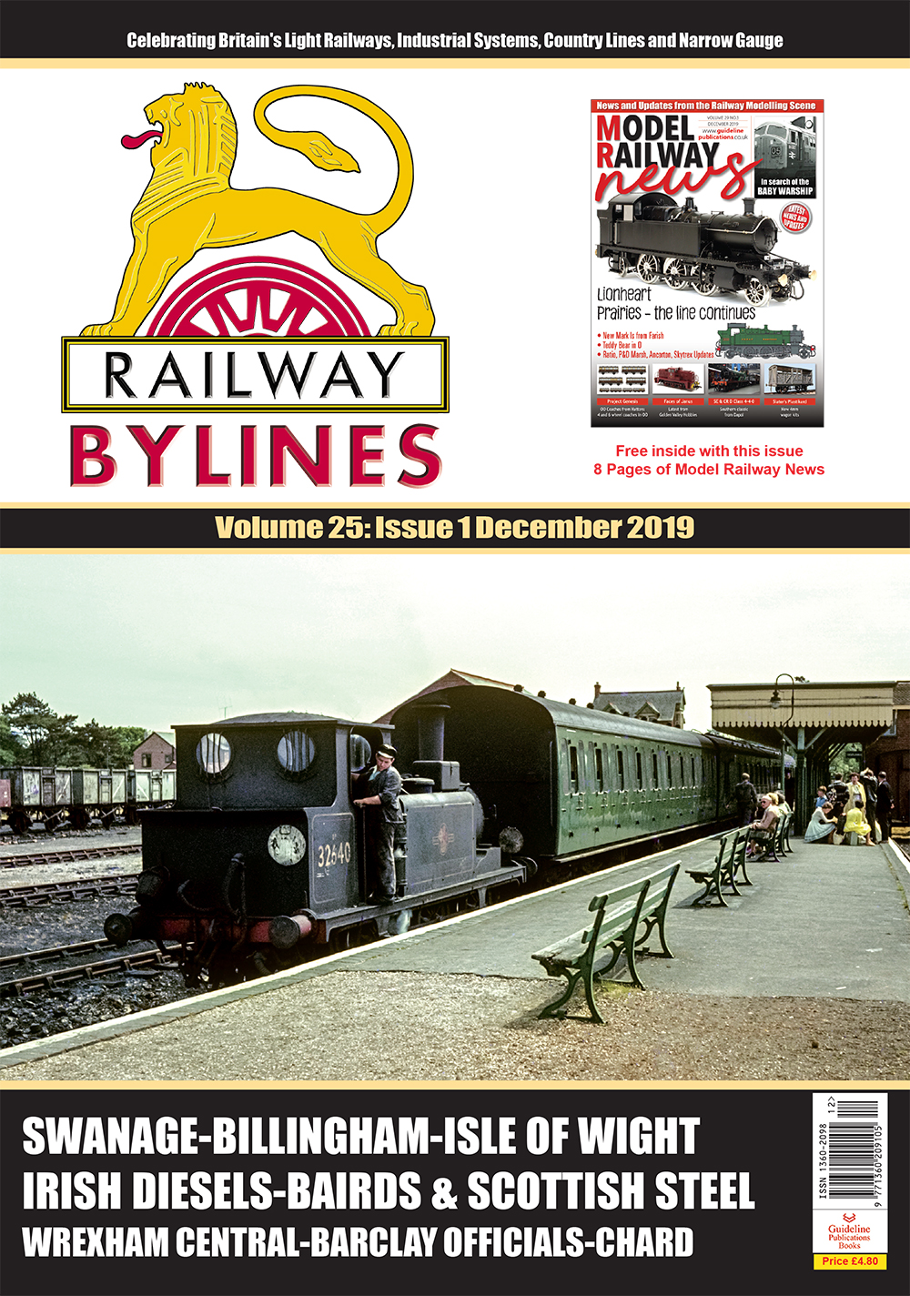 Guideline Publications Railway Bylines 12 MONTH Subscription 12 MONTH SUBSCRIPTION