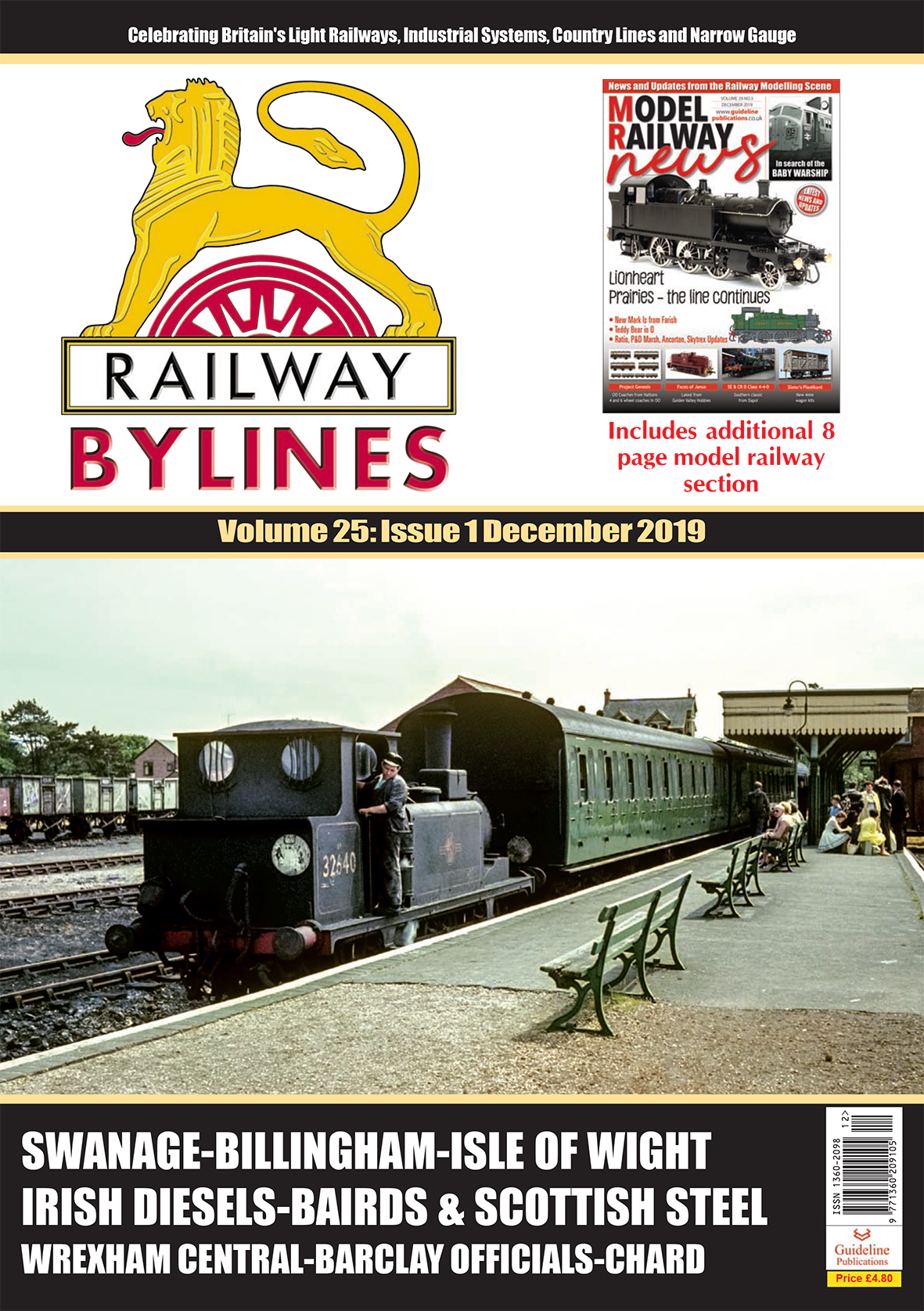 Guideline Publications Railway Bylines  vol 25 - issue 1 December  2019