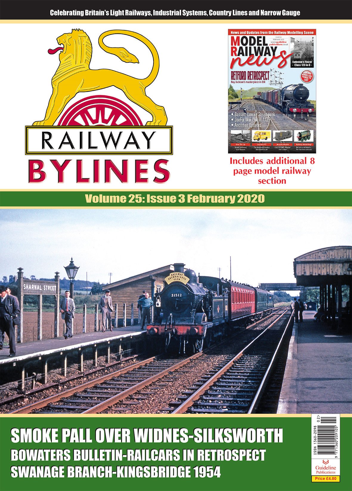 Guideline Publications Railway Bylines  vol 25 - issue 3 February 2020