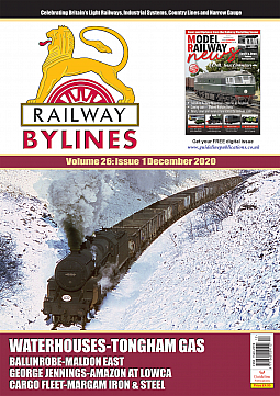 Guideline Publications Railway Bylines  vol 26 - issue 01 December 2020