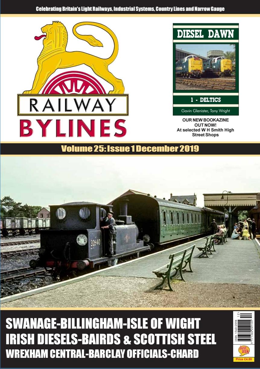Guideline Publications Railway Bylines  vol 24 - issue 12 November  2019