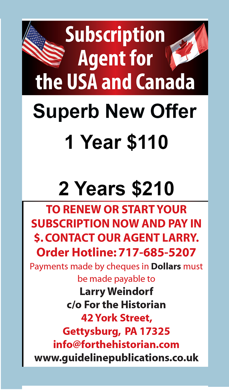 Guideline Publications Military Modelcraft International -  USA & CANADIAN SUBSCRIBERS ONLY 1 year  $110