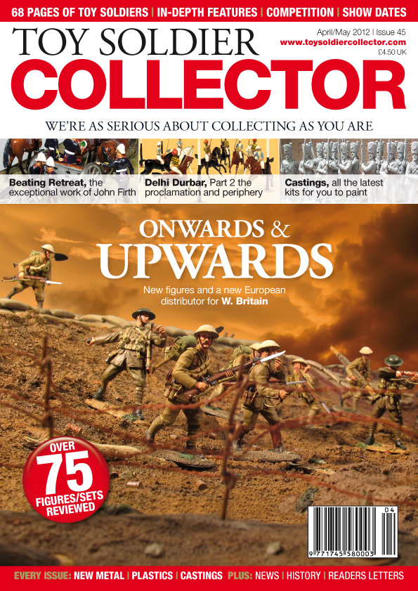 Guideline Publications Toy Soldier Collector #45 April-May 2012