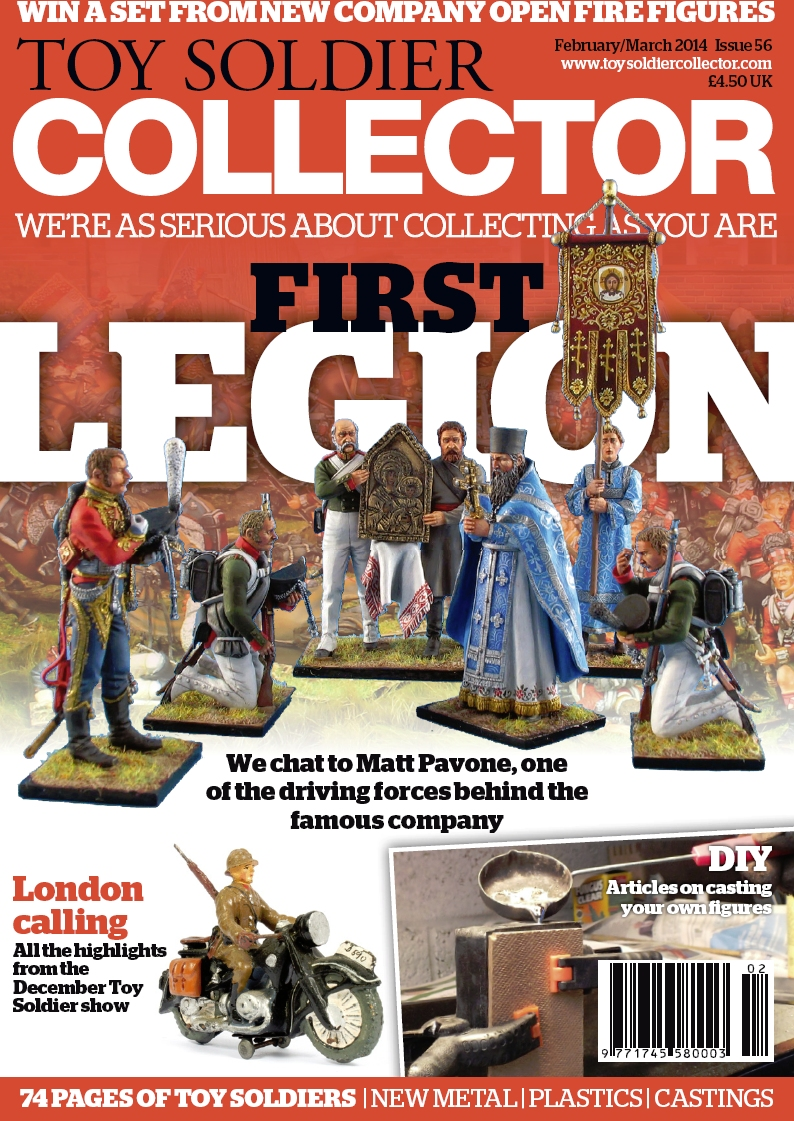 Guideline Publications Toy Soldier Collector #56 February 2014 / March 2014