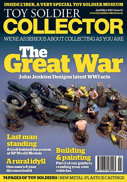 Guideline Publications Toy Soldier Collector #63 April 2015 / May 2015