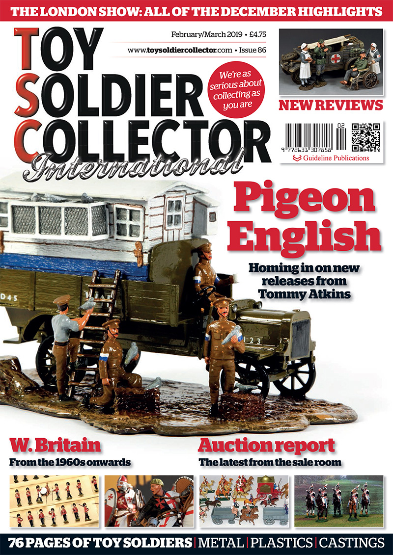 Guideline Publications Toy Soldier Collector #86 Feb/March  #86