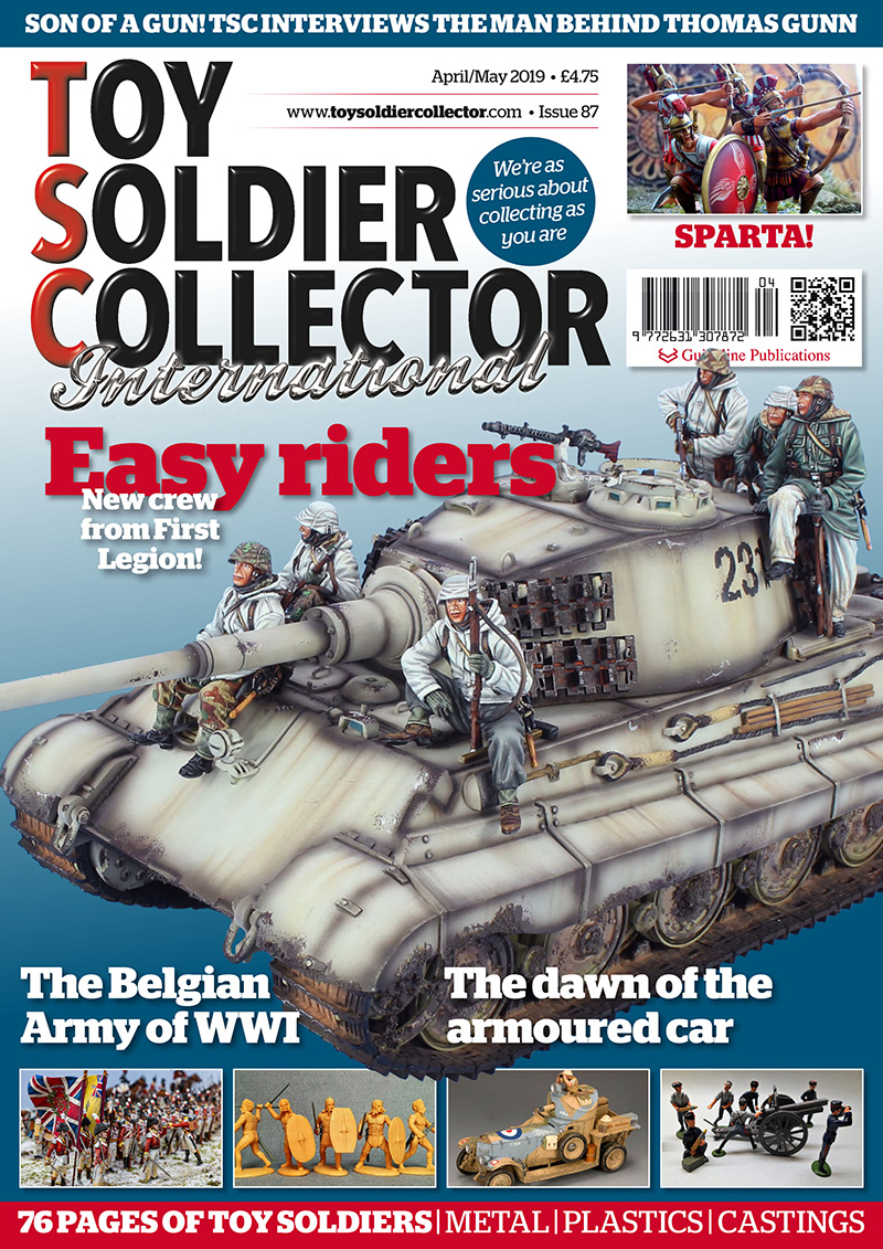 Guideline Publications Toy Soldier Collector #87 April/May  #87