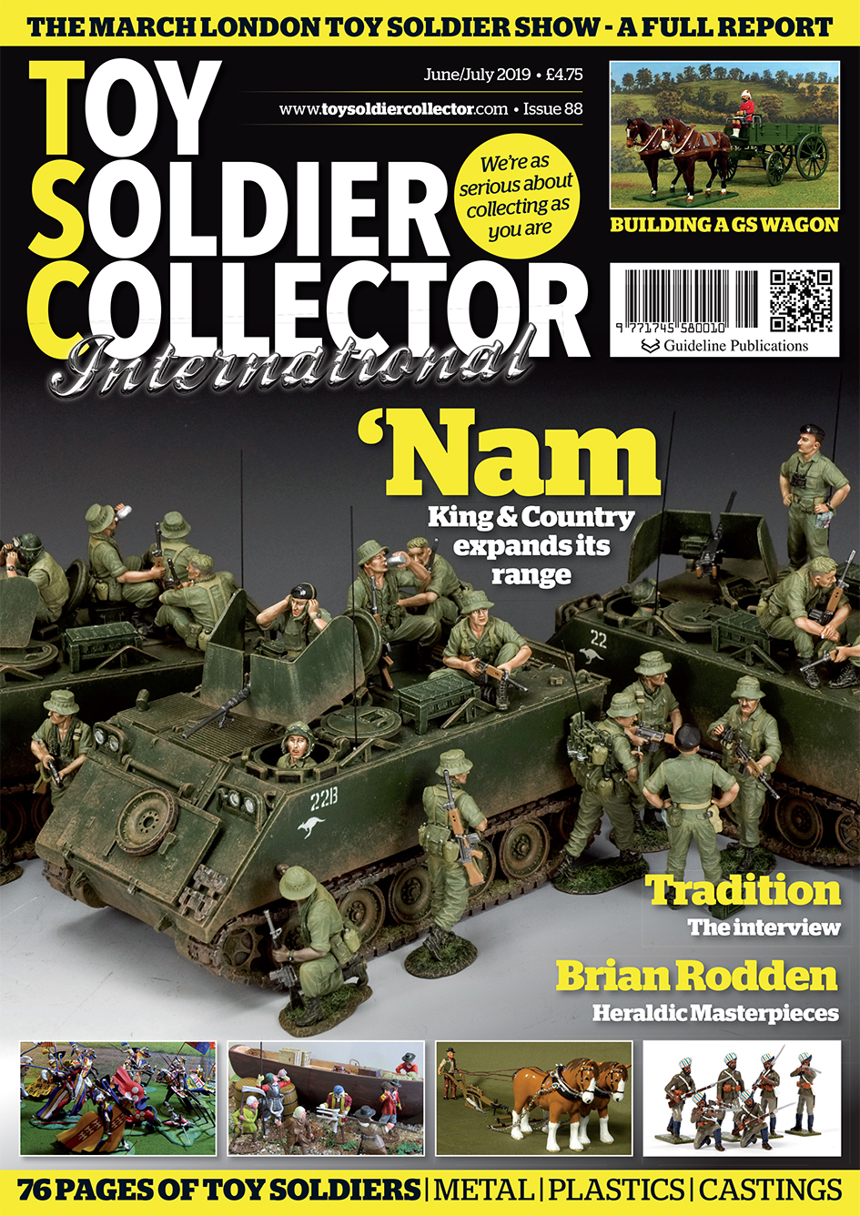 Guideline Publications Toy Soldier Collector #88 June/July  #88