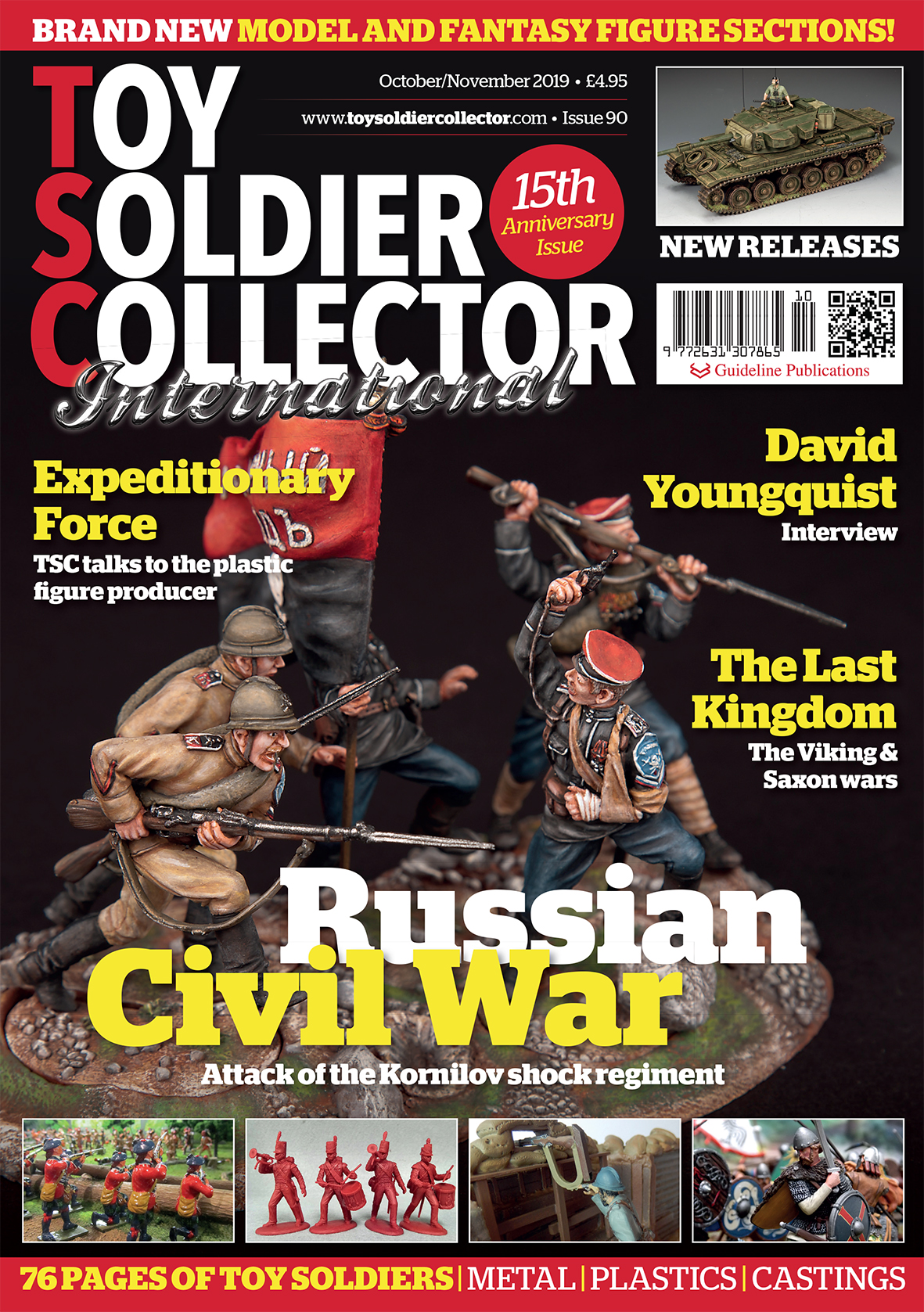 Guideline Publications Toy Soldier Collector #90 Oct/Nov Issue 90