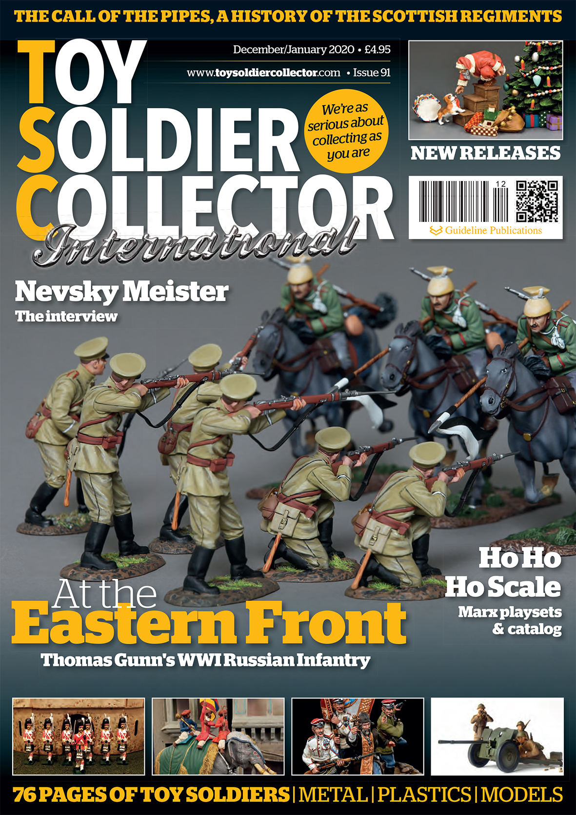Guideline Publications Toy Soldier Collector #91 Dec/Jan Issue 91