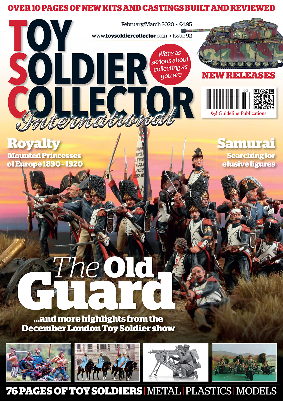 Guideline Publications Toy Soldier Collector #92 Feb/March 2020 Issue 92