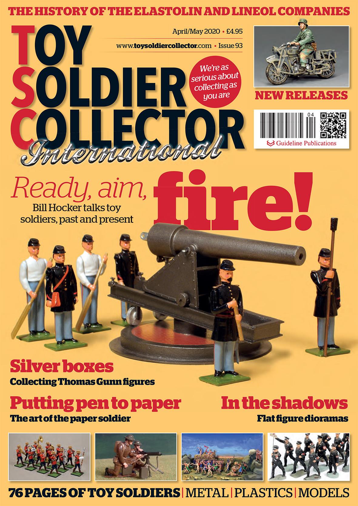 Guideline Publications Toy Soldier Collector #93 April/May 2020 Issue 93