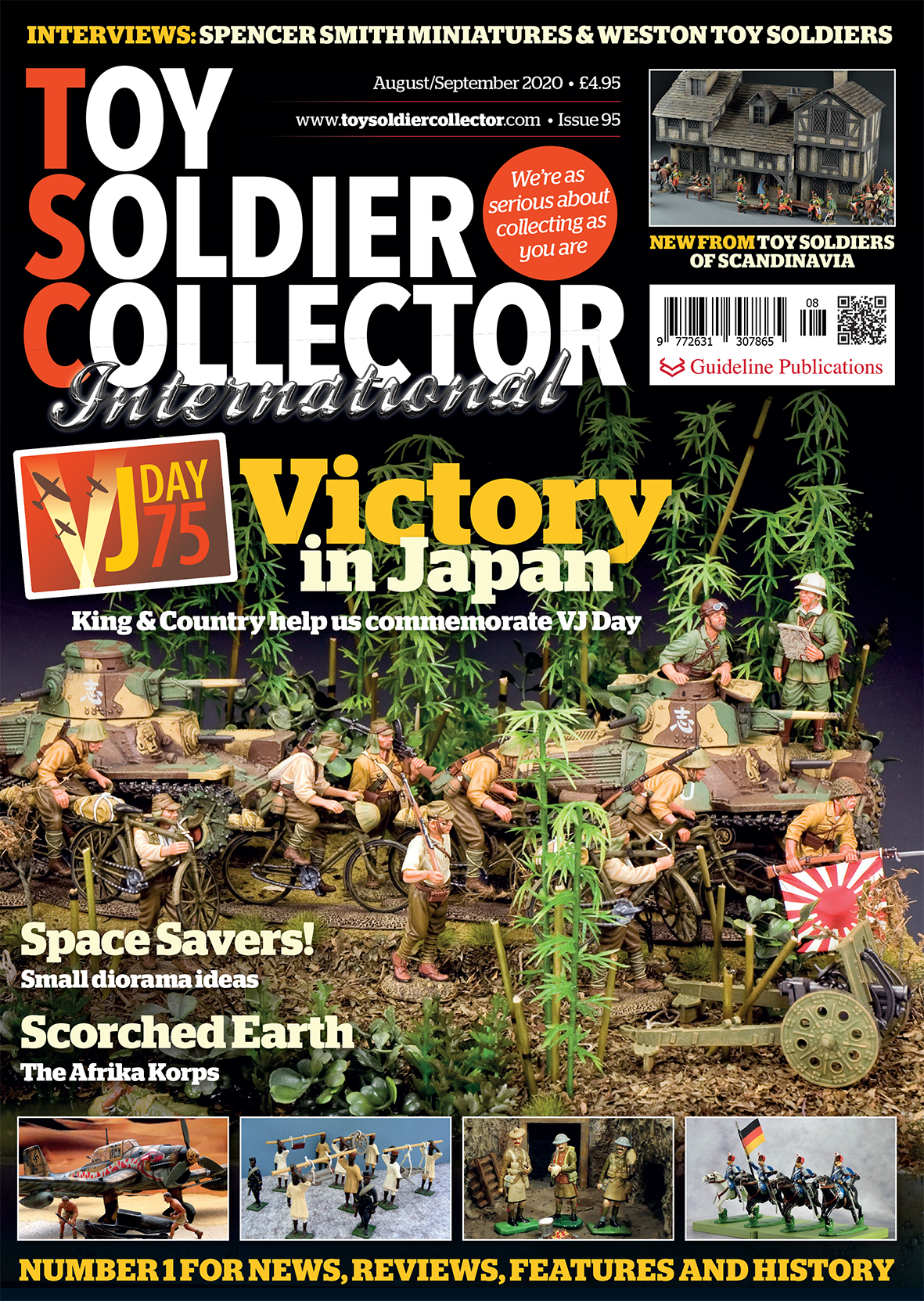 Guideline Publications Toy Soldier Collector #95 Aug/Sept 20 - Issue 95