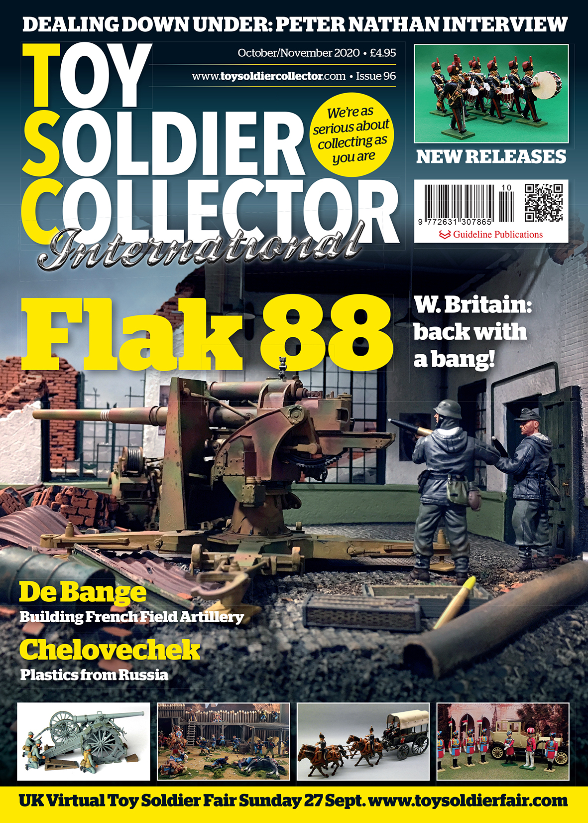 Guideline Publications Toy Soldier Collector #96 Oct/Nov 20 - Issue 96