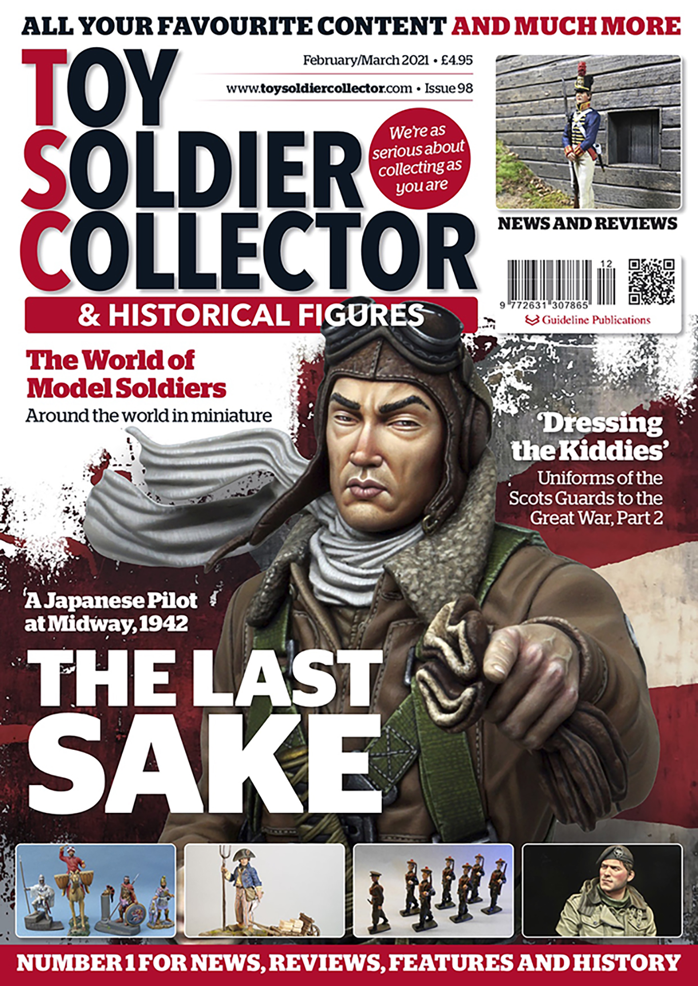 Guideline Publications Toy Soldier Collector #98 Feb/March 21 - Issue 98
