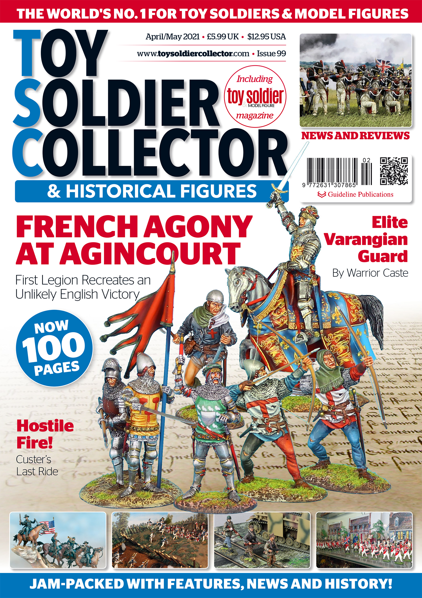 Guideline Publications Toy Soldier Collector #99 Apr/May 21 - Issue 99