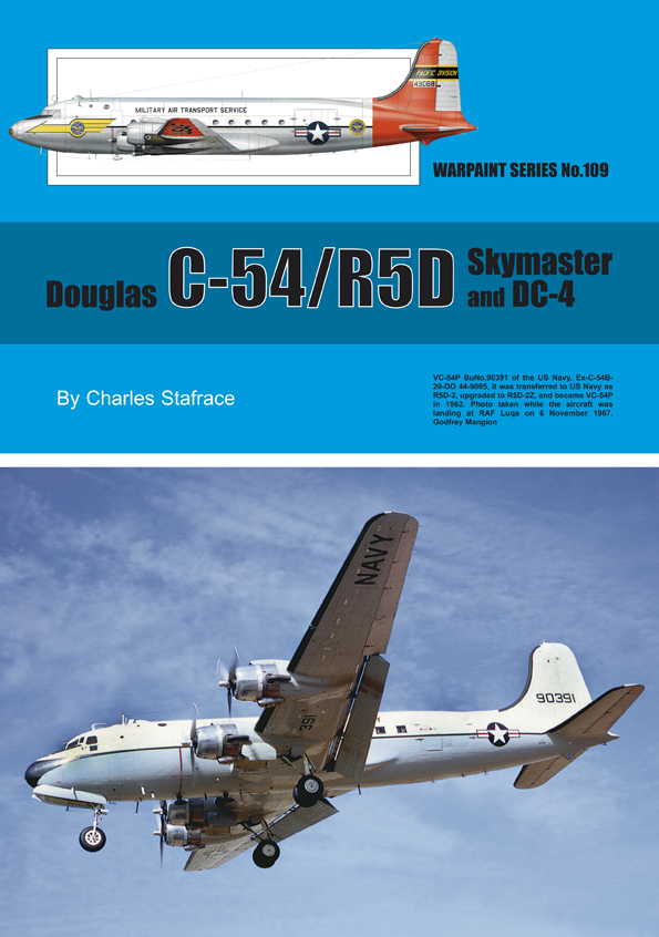 Guideline Publications No.109 Douglas C-54/R5D No.109  in the Warpaint series