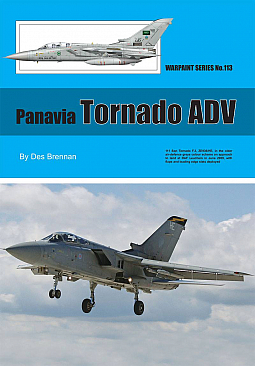 Guideline Publications no 113 Panavia Tornado ADV No.113  in the Warpaint series