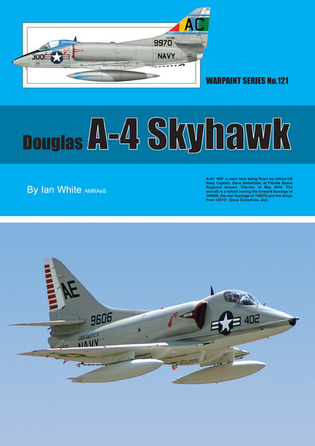 Guideline Publications 121 Douglas A-4 Skyhawk Warpaint 121