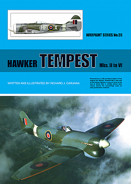 Guideline Publications No 55 Hawker Tempest Mks.II to VI