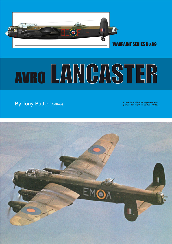 Guideline Publications No 89 Avro Lancaster No. 89 in the Warpaint series