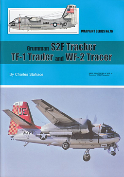 Guideline Publications No 76 Grumman S2F Tracker - TF-1 Trader & WF-2 Tracer