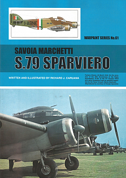 Guideline Publications No 61 Savoia Marchetti S.79 Sparviero