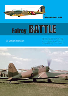 Guideline Publications No 83 Fairey Battle No. 83 in the Warpaint series