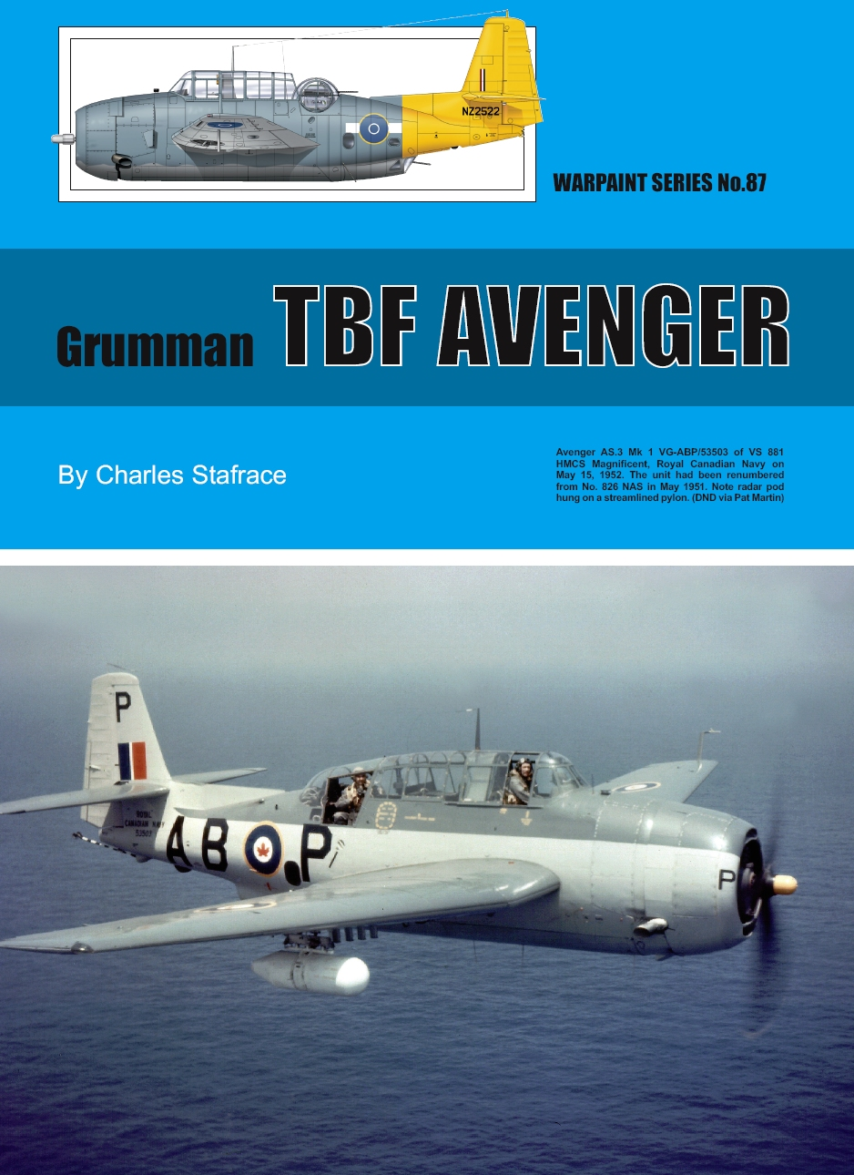 Guideline Publications No 87 Grumman TBF Avenger No. 87 in the Warpaint series