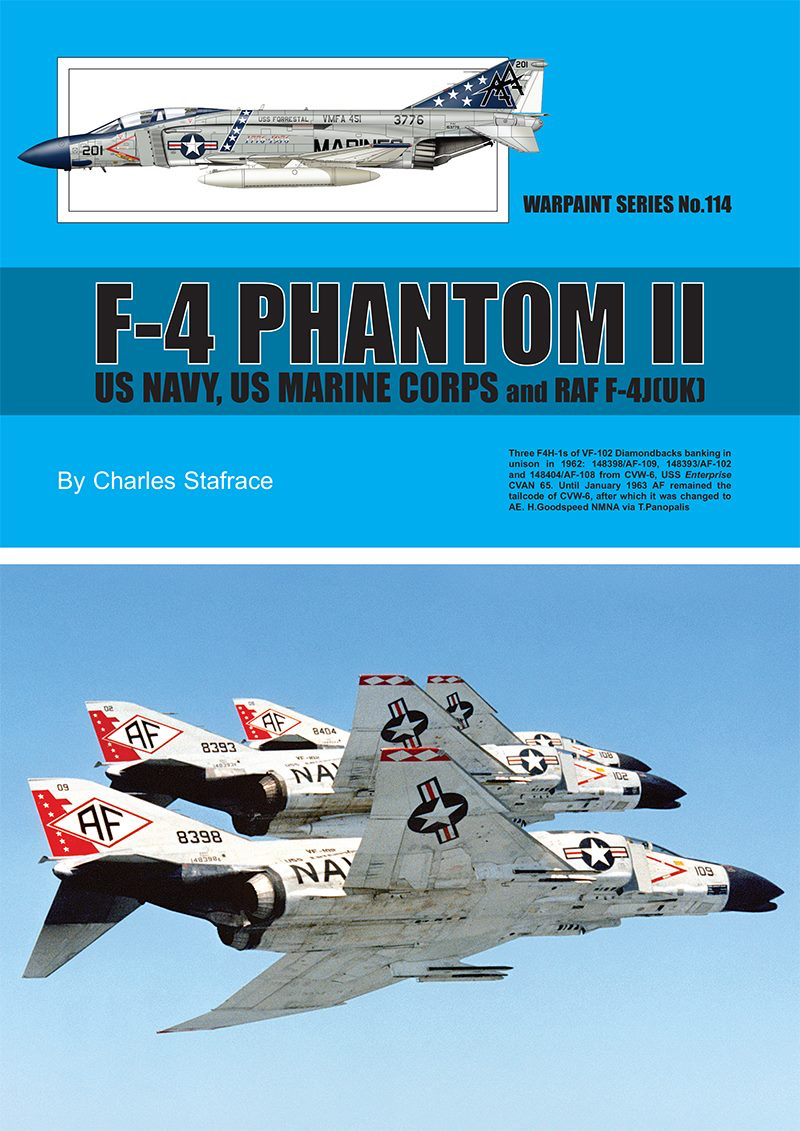 Guideline Publications no 114 F-4 Phantom 11 US navy- US marine corps and RAF F-4J (UK)