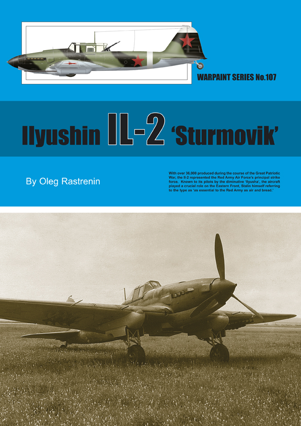 Guideline Publications No.107 Ilyushin IL-2 'Sturmovik' No.107  in the Warpaint series