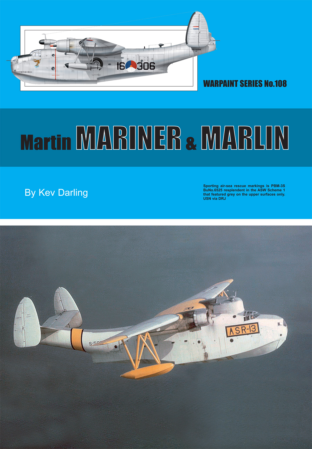 Guideline Publications No.108 Martin Mariner & Marlin No.108  in the Warpaint series